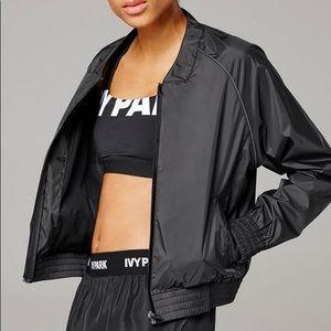 IVY PARK black full zip bomber jacket, XL
